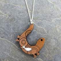 Swimming Otter Pendant
