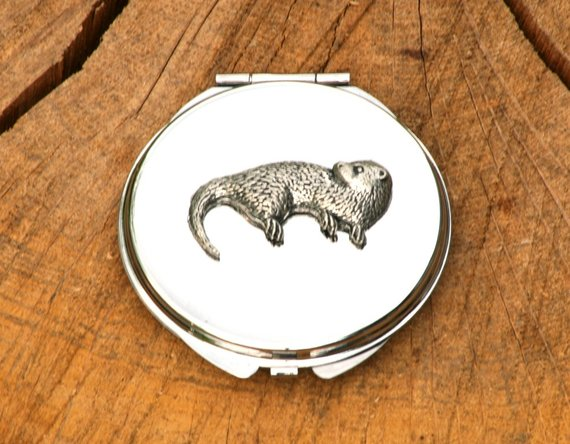 Otter pocket mirror